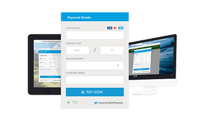 Hosted Payments Page hero