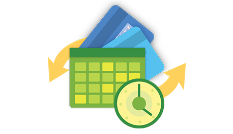 Recurring payment hero