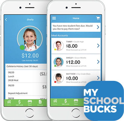 Cafeteria Mobile App Meal Payments