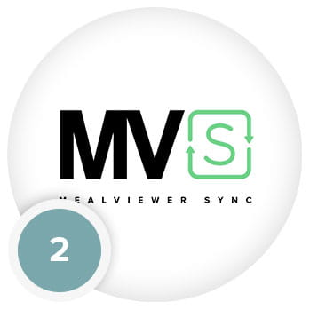 MealViewer Sync Screen