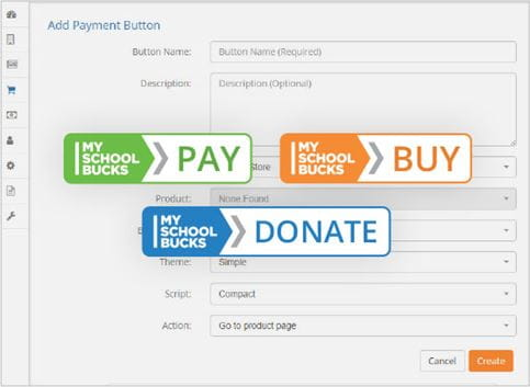 Pay Express | Create Button