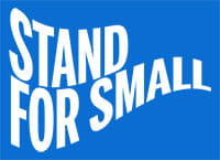 Stand for Small logo