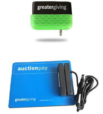 Greater Giving USB and Mobile Card Reader