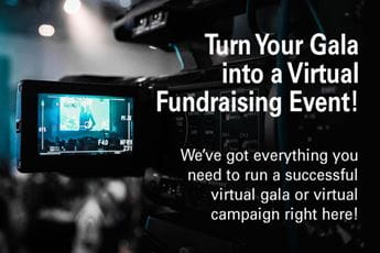 Turn Your Gala into a Virtual Fundraising Event sponsored by CGN