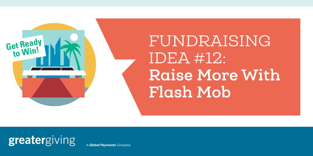 Auction Games | Idea 12 - Raise More With Flash Mob