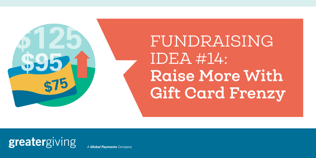 Auction Games | Idea 14 - Raise More With Gift Card Frenzy