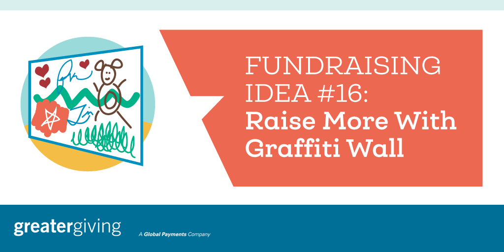 Auction Games | Idea 16 - Raise More With Graffiti Wall
