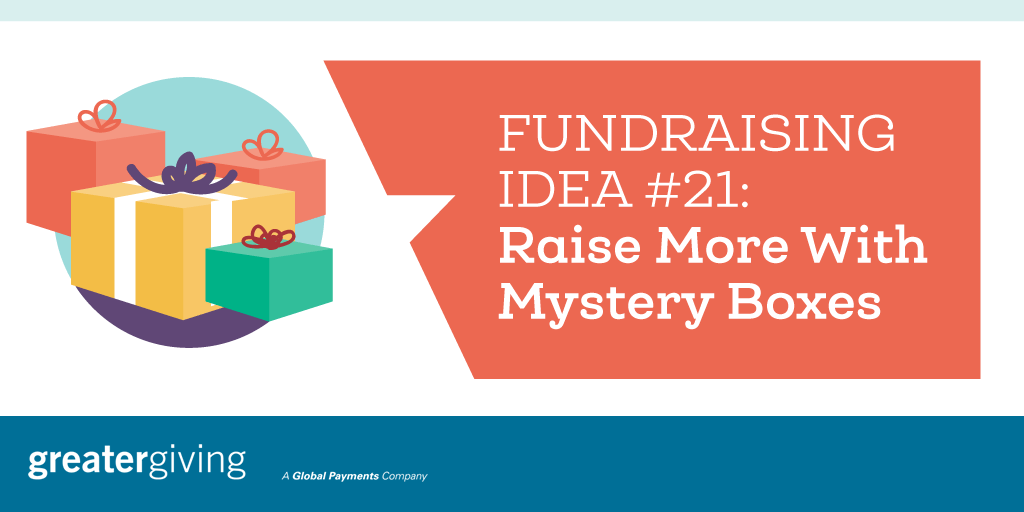 Auction Games | Idea 21 - Raise More With Mystery Boxes