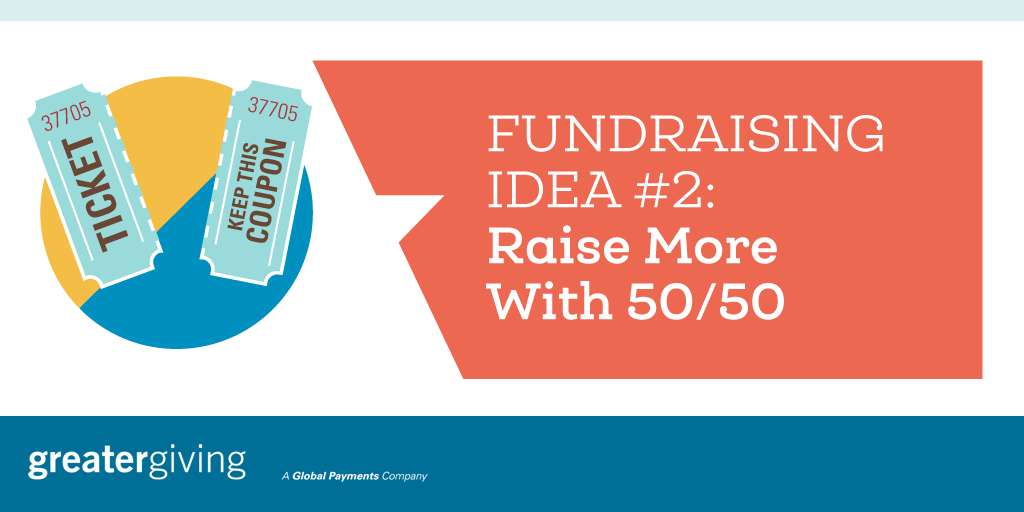 Auction Games | Idea 2 - Raise More With 50/50