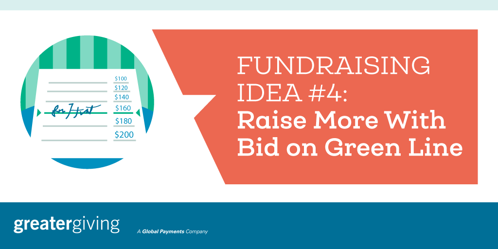 Auction Games | Idea 4 - Raise More With Bid on Green Line
