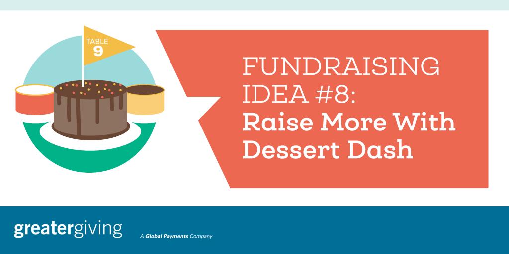 Auction Games | Idea 8 - Raise More With Dessert Dash