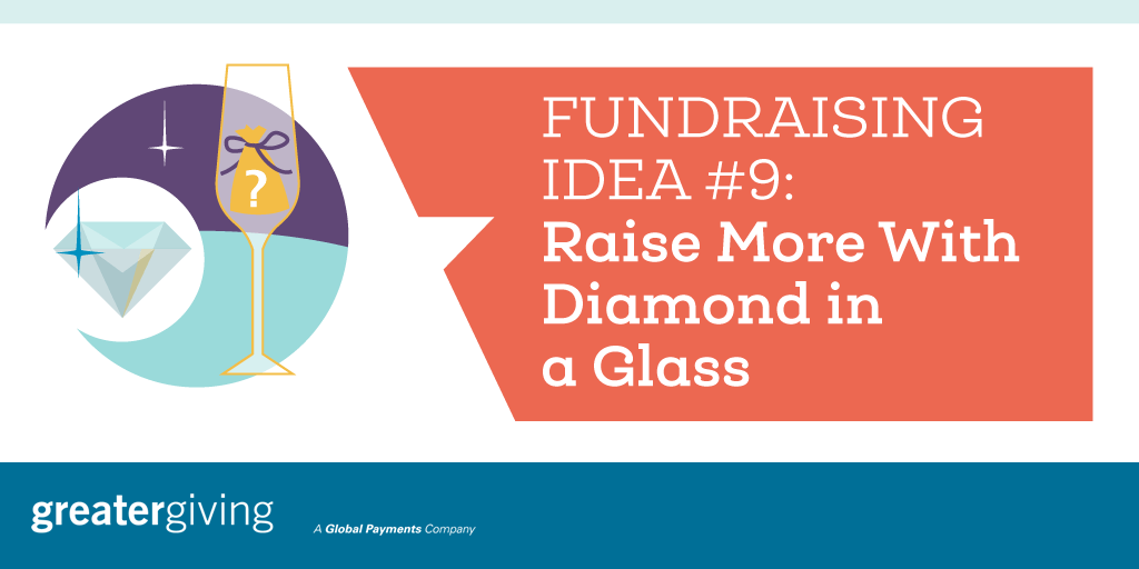 Auction Games | Idea 9 - Raise More With Diamond in a Glass