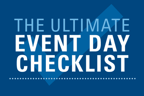 The Ultimate Event Day Checklist