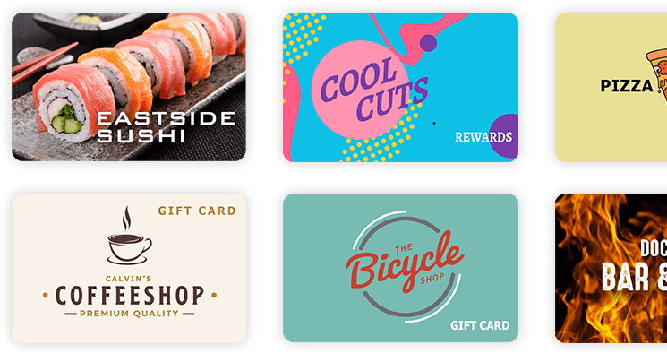 Assorted Gift Cards