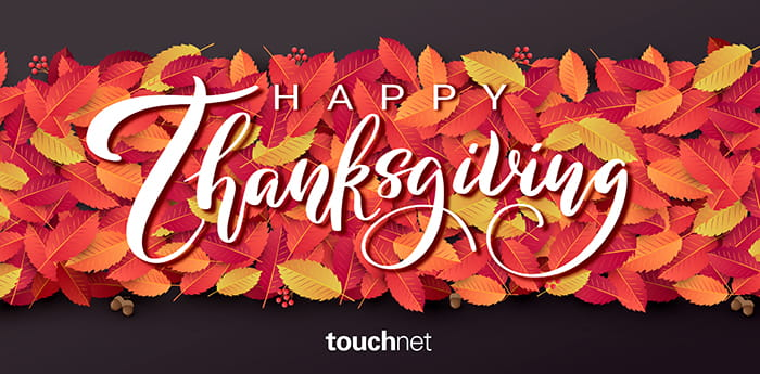 Happy Thanksgiving from TouchNet