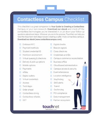 Contactless Checklist