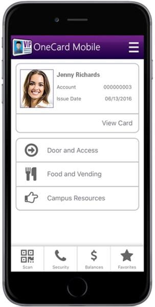 OneCard campus ID